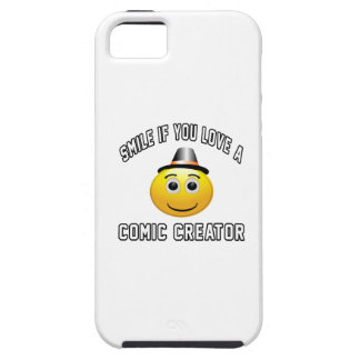 smile if you love a Comic creator. iPhone 5 Cases