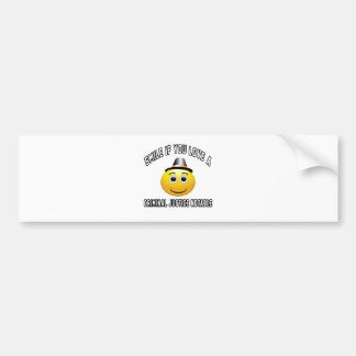 smile if you love a Criminal justice notable. Bumper Sticker
