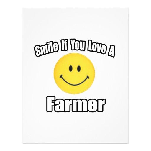 Smile If You Love a Farmer Full Colour Flyer