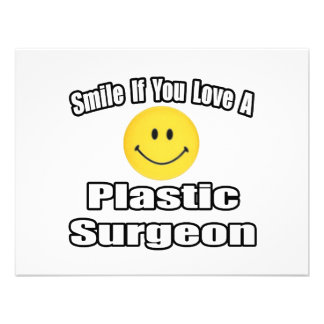 Smile If You Love A Plastic Surgeon Custom Announcements
