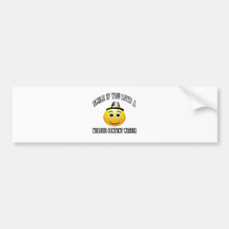 smile if you love a Website content writer. Bumper Stickers