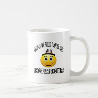 smile if you love an Aerospace engineer. Basic White Mug