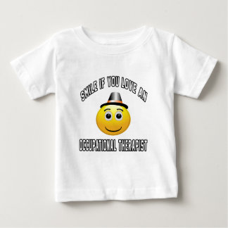 smile if you love an Occupational Therapist. Tee Shirts