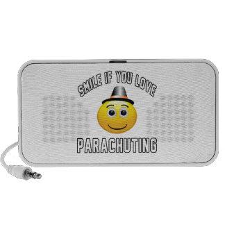 Smile if you love Parachuting. Speaker System