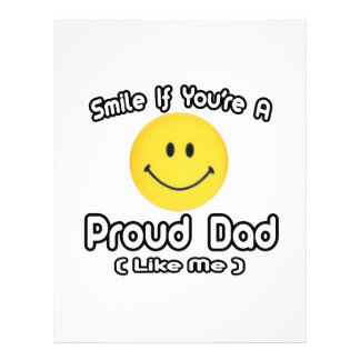 Smile If You're a Proud Dad (Like Me) 21.5 Cm X 28 Cm Flyer