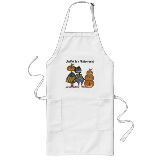 Smile It s Halloween Aprons