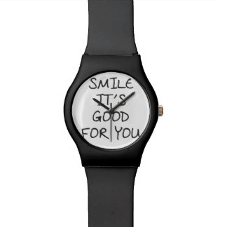 Smile Its Good For You Wrist Watch