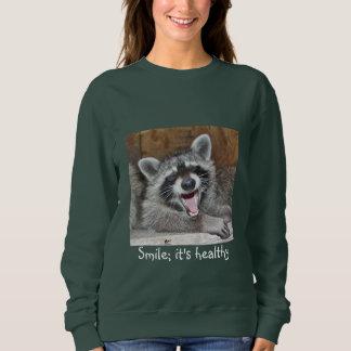 Smile ; It's Healthy Sweatshirt