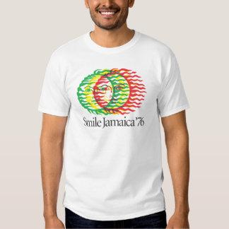 Smile Jamaica 1976 Tshirt