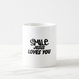 Smile Jesus Loves You Mug