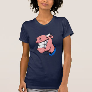 Smile Ladies Sheer V-Neck (Fitted) Tees
