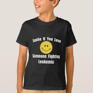 Smile...Love Someone Fighting Leukemia T-Shirt