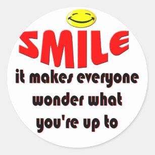 Smile Make People Wonder Gifts Gift Ideas Zazzle Uk