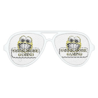 smile more gaming party glasses
