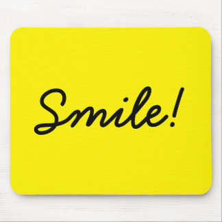 Smile! Mouse Mat
