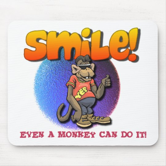 Smile Mouse Mat