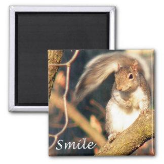 Smile Mr. Squirrel Magnet