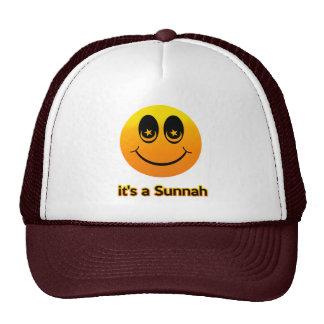 Smile Muslim Mesh Hat