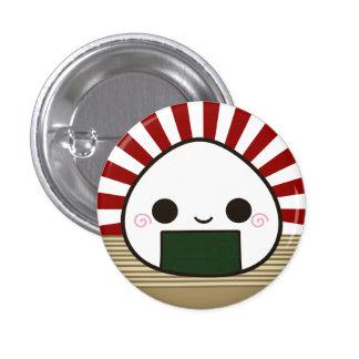 Smile Onigiri 3 Cm Round Badge