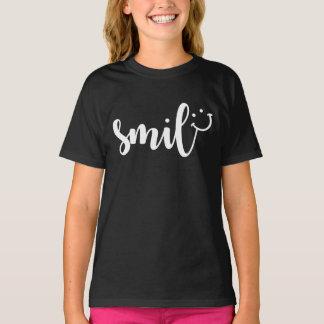 Smile Panda Girls' T-Shirt