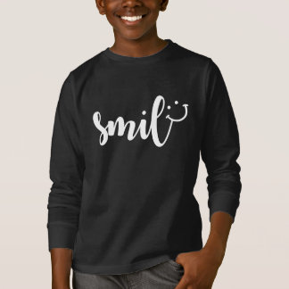 Smile Panda Kids' Basic Long Sleeve T-Shirt