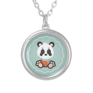 Smile Panda Necklace