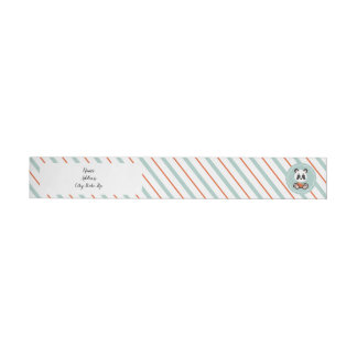 Smile Panda Wrap Around Return Address Labels