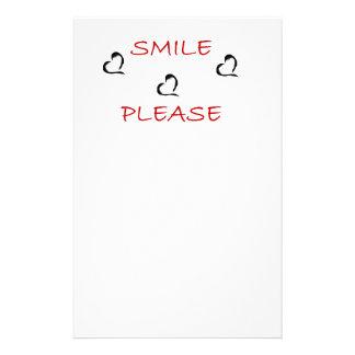 Smile Please Stationery Design
