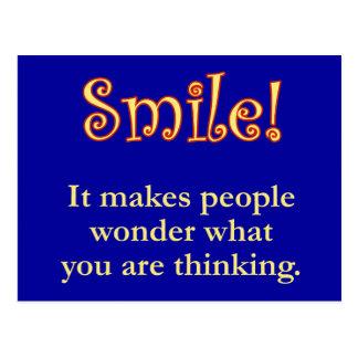 Smile! Postcard
