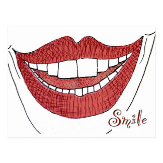 Smile Postcards
