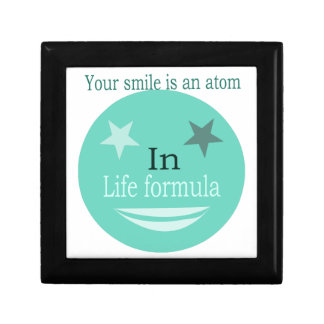 Smile Quote Gift Box