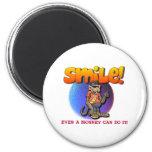 Smile Refrigerator Magnets