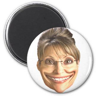 Smile Sarah 6 Cm Round Magnet