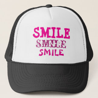 Smile Smile SmileTrucker Hat