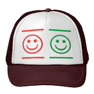 SMILE SMILEY TRUCKER HAT