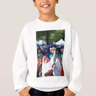 Smile Smiling Face Yosakoi Japan Japanese Sweatshirt
