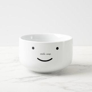 smile. soup. soup mug