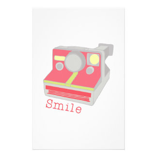 Smile Custom Stationery