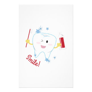 Smile! Customized Stationery