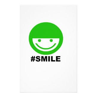 #SMILE STATIONERY DESIGN
