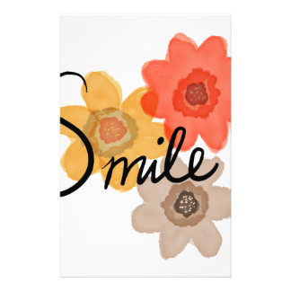 Smile Stationery Paper