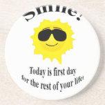 Smile Sun Coasters