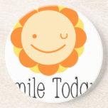 Smile Today. Coaster