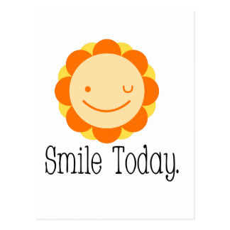 Smile Today. Postcard