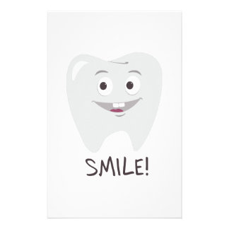 Smile Tooth Stationery Paper