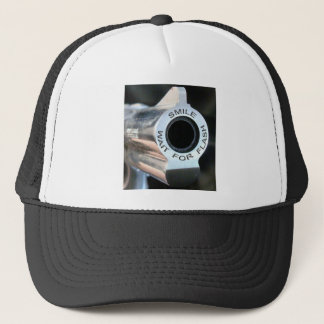 Smile-wait for flash.jpg trucker hat