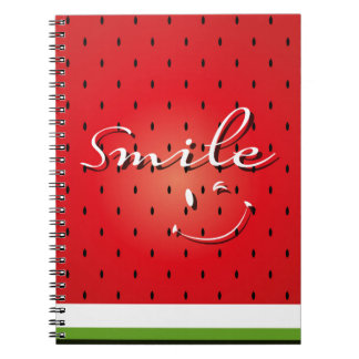 Smile Watermelon Notebooks