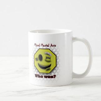 Smile, Who Won? Coffee Mug
