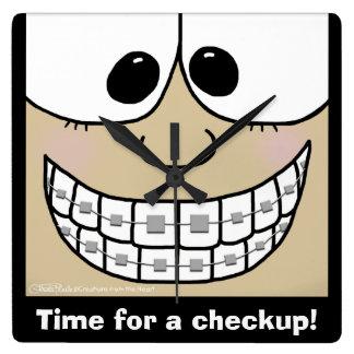 Smile with Braces Clocks