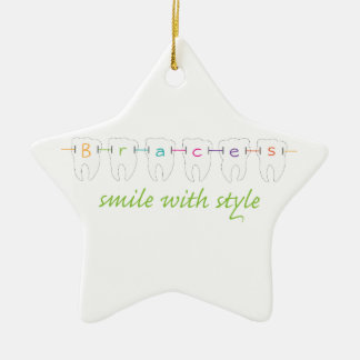 Smile With Style Christmas Ornament
